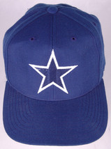VTG Dallas Cowboy Trucker Hat-Star Logo-Blue-NFL Football Cap-Snapback - $24.30