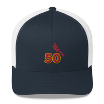 Adam Wainwright hat / Adam Wainwright Trucker Cap image 11