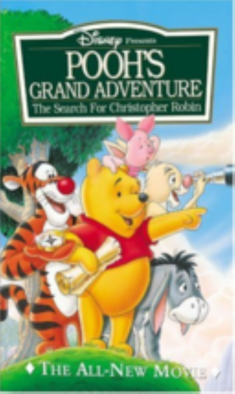 Pooh's Grand Adventure - The Search for Christopher Robin Vhs