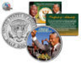 NELSON MANDELA *Father of a Nation* Victory JFK Kennedy Half Dollar US Coin - $8.86