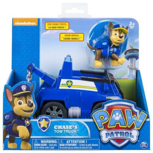 Paw Patrol 20084878-6037956 Chase's Tow Truck - Figure and Vehicle