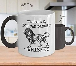 Trust Me You Can Dance - Novelty 15oz Color Changing Ceramic Whiskey Heat Mug -  - $18.80