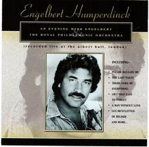 Engelbert Humperdinck CD An Evening With The Royal Philharmonic Orchestra - $1.99