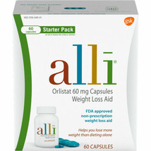 alli Orlistat 60 mg Capsules Weight Loss Aid - 60 Capsules - $25.95