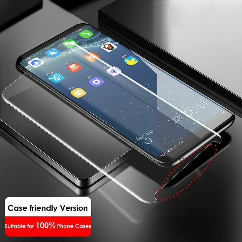 2019 UV Liquid Glass Samsung Galaxy Note 8 Screen Protector Case Friendly Film 9 image 4