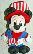 "Walt Disney World Uncle Sam Mickey Bean Bag 9"" - $17.08"