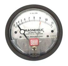 DWYER 12-166981-00  MAGNEHELIC PRESSURE GAUGE 15 PSIG MAX, 0-40, 1216698100 image 2