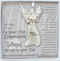 The Grandparent Gift Co. Boxed Angel with Sentiment: First Communion Gift - $15.76