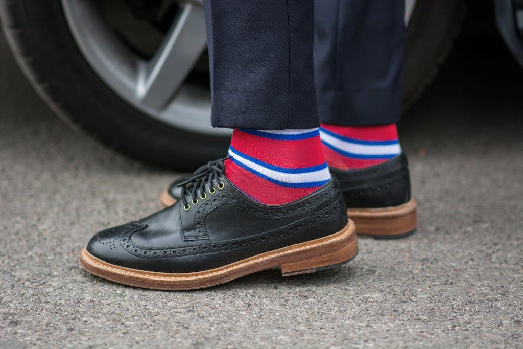 Primary image for Red Stripes Socks
