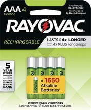 Rechargeable AAA Batteries - 8 pack - $40.50