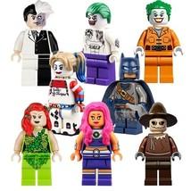 8 PCS/Set DC Comic BATMAN & VILLAINS Minifigure Bricks Building Blocks T... - $14.45
