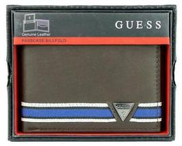 Guess Men's Leather Wallet Passcase Billfold Credit Card Id 31GU220003 image 5