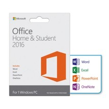 Microsoft Office Home and Student 2016 for Windows PC License Key Code  - $19.95