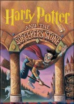 Harry Potter and the Sorcerer's Stone Book Cover Refrigerator Magnet NEW... - $3.99