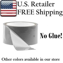 2 Pack, Silver PVC Costume Tape, 50 foot role X 2 = 100 feet of tape - $11.87