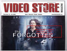 Video Store Magazine Movie The Forgotten, Alien VS Predator, November 2004 - $29.99
