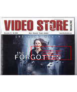 Video Store Magazine Movie The Forgotten, Alien VS Predator, November 2004 - $29.99