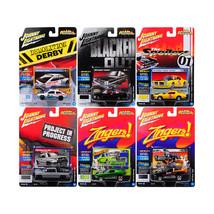 Street Freaks 2017 Release 4A Set of 6 cars 1/64 Diecast Model Cars by J... - $57.86