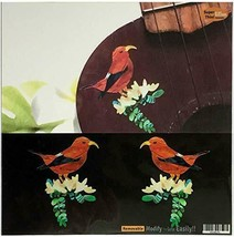 Jakamou Hawaiian Honey Creeper (Mitsudori) L & perfect for R set ukulele... - $32.38