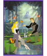 Disney Sleeping Beauty Commerative Lithograph - $54.53
