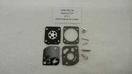 CARBURETOR REBUILD KIT REPLACES ZAMA RB-136 FITS C1U-K83 ZAMA CARBURETORS - $8.25