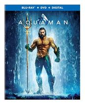 Aquaman  (Blu-ray + DVD + Digital, 2019)