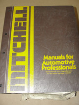 MITCHELL 1972 THROUGH 1981 ELECTRICAL SERVICE & REPAIR IMPORTED CARS & T... - $49.99