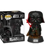 Star Wars Darth Vader Light & Sound Electronic Vinyl POP Figure #343 FUN... - $14.50