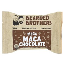 Bearded Brothers - Energy Bar - Mega Maca Chocolate - Case of 12 - 1.52 oz. - $36.99