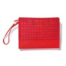 Avon Joyful Beautiful Cosmetic Clutch Red - $10.99