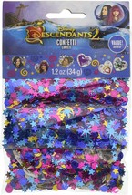 Disney Descendants 2 Movie Kids Birthday Party Decoration Confetti 3-Pack - $9.17