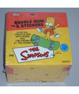 1992 Topps The Simpsons Bubble Gum & Stickers F... - $44.99