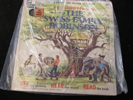 Disneyland Follow Along Record & Book    The Swiss Family Robinson - $5.90