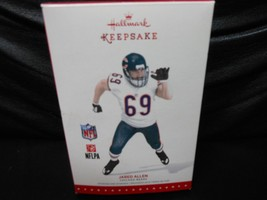 "Hallmark Keepsake ""Jared Allen - Chicago Bears"" 2015 Ornament NEW - $3.37"