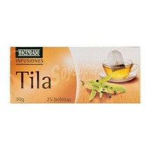 Quality Linden Flower Tila Tea Infusion 25 Bags  Individual Spices of the World - $10.99