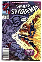 Web Of Spider-man #61 Marvel-1st child Normie Osborne Newsstand variant - $27.74