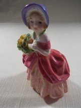 Royal Doulton Cissie HN 1809 Retired Beautiful Vintage Girl Child Lady Figurine - $145.99