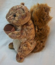 """TY Beanie Baby NUTTY THE SOFT BROWN SQUIRREL 5"""" Plush STUFFED ANIMAL Toy - $14.85"""