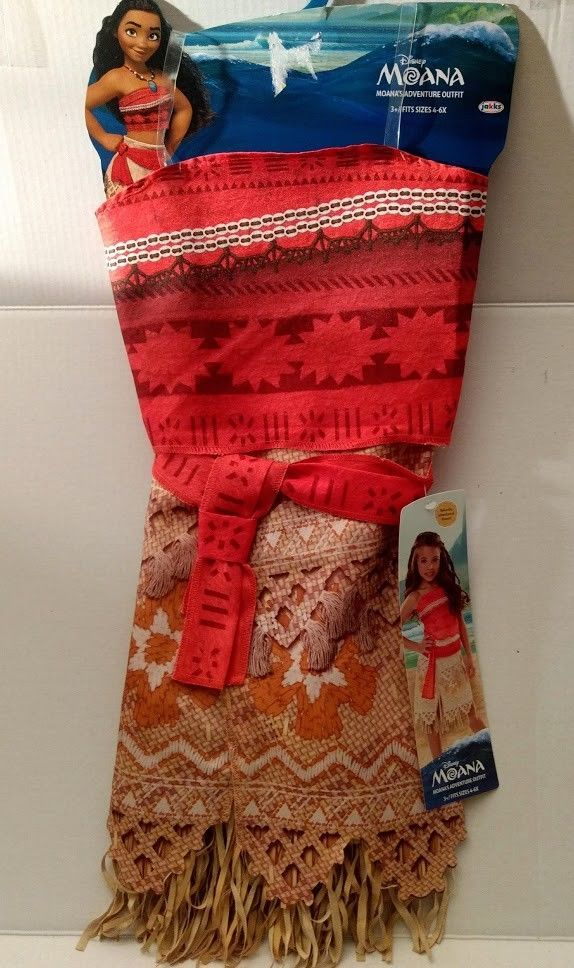4fafc1231 Disney Moana Adventure Outfit Dress Costume and similar items. S l1600