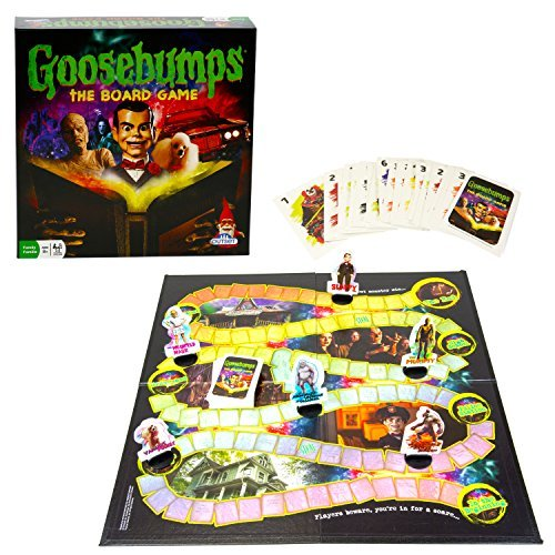 Primary image for Goosebumps Movie Game - Thrilling Family Board Game - Battle Each Other In A Fra