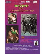 MYMP / Orange & Lemons Philippines - Vegas Promo Card - $1.95