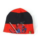 Marvel Spider-Man Ribbed Skull Cap Acrylic Boys Girls OSFM One Size Red ... - $12.86