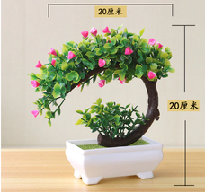 NEW Artificial Plants Bonsai Fake Flowers for Home Decoration ( Flower +... - $9.98