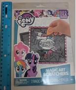 My Little Pony Magic Art Scratchers Scratch-off Activity Craft Kit NEW - $3.00