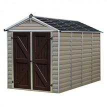 Outdoor Storage Shed Garden Building Kit Garage 6X10 Tools Durable Plast... - $1,762.61