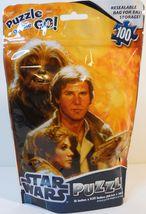 Star Wars Puzzle on the Go 100 pieces Luke Leia Han Chewie Lando R2 - $5.95