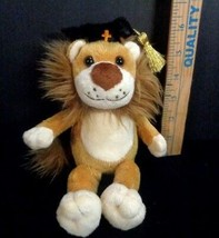 "Bestever 8"" Lion Graduation Plush Stuffed Animal With Bible Verse On Hat... - $11.87"