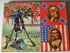 Vintage 1977 Avalon Hill Games GETTYSBURG BATTLE Game - $18.99
