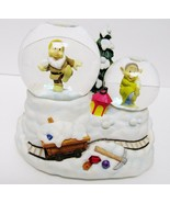 DISNEY SEVEN DWARFS Snow White Enesco Mini Water Snow Globe Ceramic Gree... - €36,91 EUR