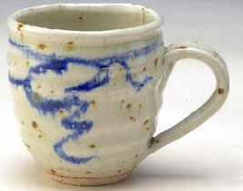 Japanese Soup Coffee Tea Mug cup Shigaraki yaki ware Mizu no ne from japan - $35.69